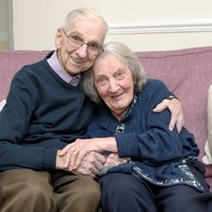 Jack Potter with his diary of his 70 years of marriage to Phyllis. He has documented more than 70 years of happy times with his dementia wife in a diary now reads their stories to her to jog her memory. Jack Potter, 91, first wrote in his diary after meeting Phyllis, 93, at a dance in Strood, Kent, in 1941. Since that date old romantic Jack has kept every keepsake in his diary, noting down of every dinner, holiday and conversation the couple have shared.