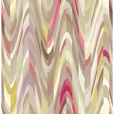 2656-004012 - Aurora Pink Geometric Wave - by A-Street Prints