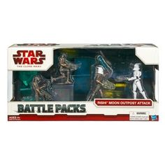 Star Wars 375 Battle Pack Asst  Rishi Moon Outpost Attack -- To view further for this item, visit the image link.(It is Amazon affiliate link) #ilike