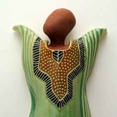 Charan Sachar creates lovely ceramic dancing divas.