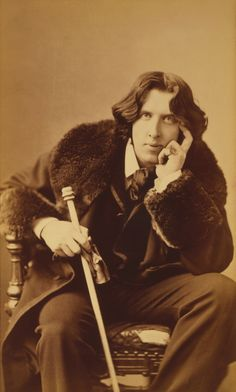 Today is the birthday of Oscar Wilde, born in 1854. He was an Irish writer and poet. fter writing in different forms throughout the 1880s, he became one of London's most popular playwrights in the early 1890s. Today he is remembered for his epigrams, his only novel (The Picture of Dorian Gray), his plays, and the circumstances of his imprisonment and early death.
