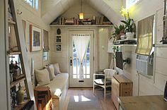 Impressive Tiny House Built for Under $30K Fits Family of 3 | Curbed