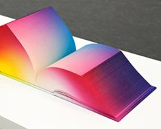 RGB color axis in a book created by Tauba Auerbach.  Incredible!  There are the other axis too.