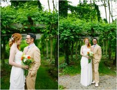 Hudson River Valley Outdoor Wedding Bride + Groom