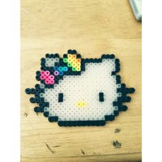 hello Kitty perler beads by lindasdomination