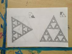 Sierpinski triangles, two unexpected routes from quarter hexagons
