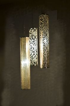 Love these!  Beautifully Intricate Lighting by Zenza