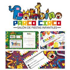 Autor: Amir Alcocer Palma Obra: Parco Circo #Branding #Logotipo #Infantil