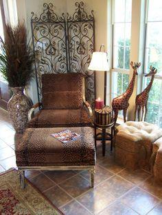 African Safari Decor Design, Pictures, Remodel, Decor and Ideas