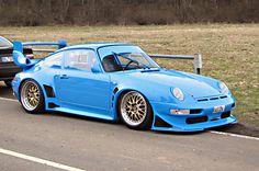 Porsche 993 GT2 Blue