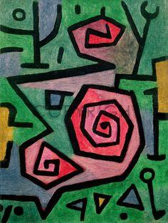 Heroic Roses - Paul Klee