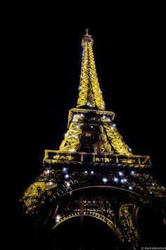 Eifel Tower @ Night by Rockin' Daddy on 500px