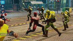 MARVEL Strike Force is a Free Android Role Playing TBS Mobile Multiplayer Game where an assault on Earth has begun and Super Heroes and Super Villains are working together to defend it