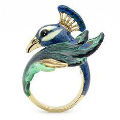 Good after - Peacock Ring Peacock Ring, Peacock Jewelry, Peacock Colors, Peacock Art, Bird Jewelry, Animal Jewelry, Jewelry Rings, Jewelry Box, Jewelry Accessories