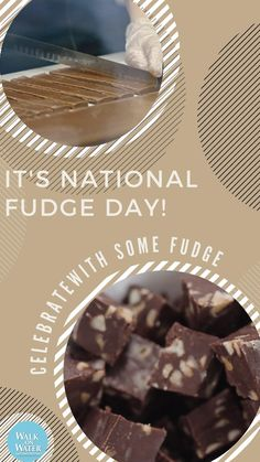 It's National Fudge DAY! Excuse to get some yummy fudge...