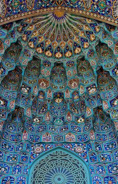 """Saint Petersburg Mosque, Russia - Quote:""""The walls were made with grey granite and the dome and both minarets (tower) are covered with mosaic ceramics of sky-light-blue colour. Skilled craftsmen from Central Asia took part working on the mosque. Art Et Architecture, Islamic Architecture, Beautiful Architecture, Beautiful Buildings, Architecture Details, Beautiful Places, Amazing Places, Bamboo Architecture, Beautiful Mosques"""