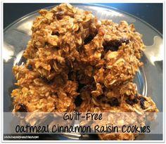 Clean Eat Recipe :: Oatmeal Cinnamon Raisin Cookies