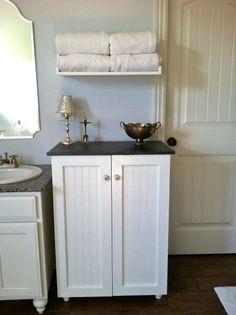 This is such a cool way of hiding the laundry! I hope that I can accomplish something like this!
