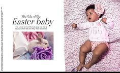 Shop the tale of the Easter Baby;  a story full of pastels, bunnies and happiness. #kids #Easter #fashion
