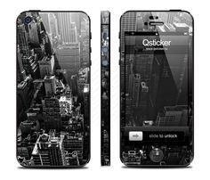 Виниловая наклейка для iPhone 5 New York  купить в интернет-магазине BeautyApple.ru.