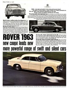 Old car ads from magazines & newspapers - Page 56 - General Gassing - PistonHeads Used Car Lots, Used Cars, Rover P6, Auto Rover, Ford Orion, Car Brochure, Old Bikes, Car Advertising, All Cars