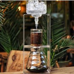 Stunning Cold Drip with the Hario Cold Drip Tower! Shop Link in Bio by Cold Brew Coffee Machine, Cold Drip Coffee Maker, Making Cold Brew Coffee, Sweet Coffee, Black Coffee, Hot Coffee, Coffee Shop, Melbourne Coffee, Coffee Geek