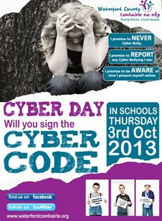Waterford County Comhairle na nÓg - The Cyber Code