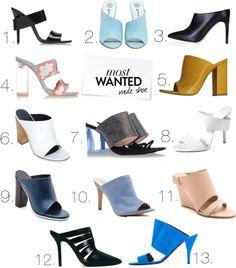 Trend Forecast - mule shoe - - bittersweet   colours