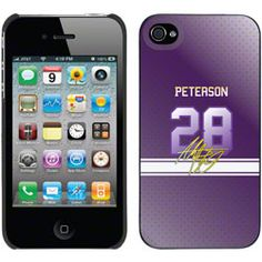 NEW ARRIVAL: Adrian Peterson - Color Jersey on iPhone 4 / 4S Thinshield Snap-On Case by Coveroo  http://www.fansedge.com/Adrian-Peterson---Color-Jersey-on-iPhone-4-4S-Thinshield-Snap-On-Case-by-Coveroo-_-516185802_PD.html?social=pinterest_pfid55-02368