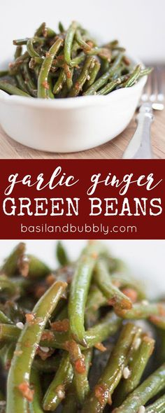 Just like PF Chang's! My favorite copycat recipe, and it's a vegetable! Go figure.  LOVE these garlic ginger green beans for making easy takeout at home.