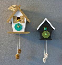 Kuckucksuhr selber bauen - ein funktionelles Prachtstück