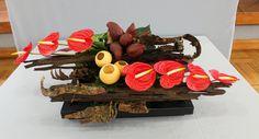 Ikebana Arrangements, Floral Arrangements, Elegant Flowers, Cup And Saucer, Flower Designs, Fun, Driftwood, Inspiration, Profile