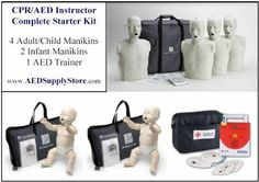 CPR #Instructor Package - Prestan CPR Manikins and AED Trainer - Brand-New! $625.00 Cpr Instructions, Cpr Manikins, Cpr Training, Adult Children, First Aid, Business Ideas, Trainers, Medical, Packaging