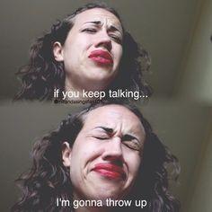 Yeesssss exactly me with people that I don't like