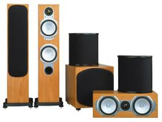 The slightly larger Monitor Audio RS6AV system replaces the Monitor Audio RS1 with RS6 speakers left and right, but by sharing the same driver technologies, they gel with the system components as effectively.