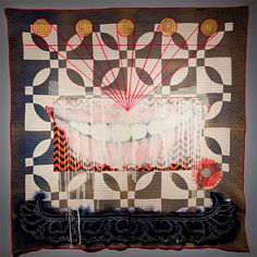 Quilt #9 (Cheshire) by Sanford Biggers