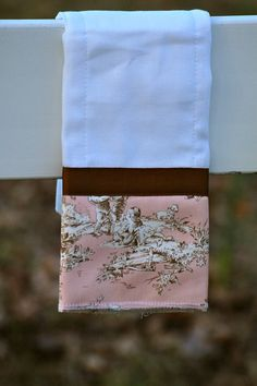 Baby Girl Burp Cloths by BBabiesBiz on Etsy, 3 for $29.99