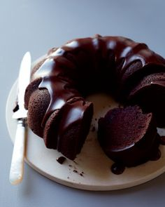 Torta de Bundt del chocolate de