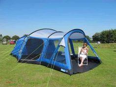 K&a Bamburgh 6 Series 2 Tent & Be still my beating heart! Southwold 8 Air | Kampa UK | Camping ...