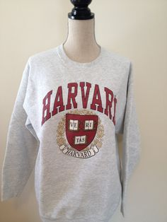 Vintage Harvard University Sweatshirt by 21Vintage on Etsy, $24.00