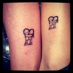 This would be a great sibling tattoo...but with the five of us instead of jyst two