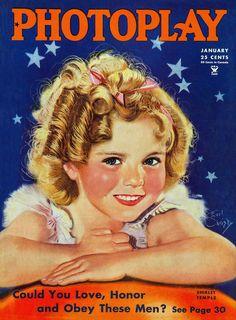 Photoplay Magazine - January 1935  (Shirley Temple)