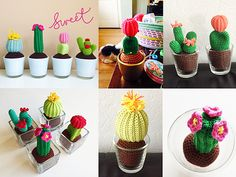 Ravelry: Cactus pattern by Yarnplaza.com - For knitting and crochet