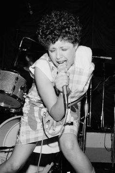 POLY STYRENE (X-Ray Spex) [9 July 1977; @Belle Vue, Manchester | ©KevinCummins]