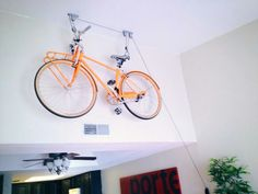 Bike storage -hang it on the wall!