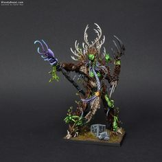Treeman Ancient #woodelves #warhammer #whfb #aos #ageofsigmar #sylvaneth #treeman #gamesworkshop #wargame #wargaming #tabletop #miniatures #miniature