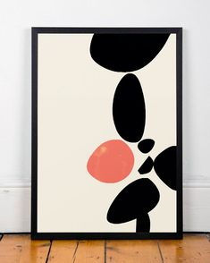Abstract print Abstract poster Modern poster by ShopTempsModernes