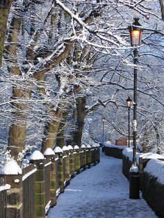 Chester walls, early morning snow by Franck_ on Flickr.