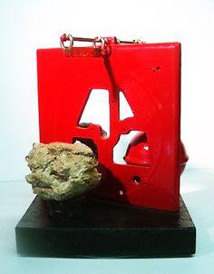assemblage sculpture by ron Rosendahl