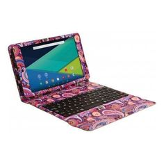 "Visual Land - Prestige Elite 8QI - 8"" - Tablet - 16GB - With Keyboard - Paisley, ME8QIDC16GBMAGP"